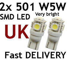 501 W5W SMD LED Parking Bulbs fit VW TRANSPORTER T2 T4 T5