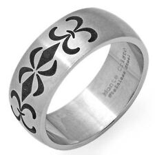 ELEGANT GENTS RING MADE OF STAINLESS STEEL SIZE-11/V