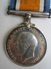 Canada WW1 British War Medal - 2nd LIEUT. F.H. Wright