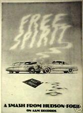 1974 Hudson-Ford A&M Record/Album Promo Photo Music Memorabilia Promo Art AD