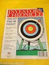 INVESTORS CHRONICLE - 5 DAY SETTLEMENT GUIDE - JUNE 2 1995