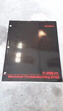 Acura NSX Electrical Troubleshooting Manual OEM 97-00
