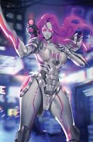 SONJAVERSAL #1 LEIRIX MECHA RED SONJA VIRGIN VARIANT - LTD to 500 - NM or Better