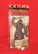 Lord of the Rings Two Towers SUPER POSEABLE SHAGRAT URUK-HAI Figure New TTT LOTR