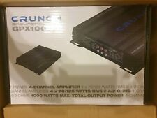 CRUNCH GPX1000.4 Car Amp Amplifier 4/3/2 Channel Car-Hifi 1000W