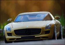1:18 Tuning Mercedes-Benz R197 SLS AMG 2010 Flat Gold + VOSSEN ALUFELGEN = OVP
