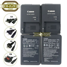 Used Original Canon CB-2LZE Charger for PowerShot G10,G11,G12,SX30 IS,NB-7L