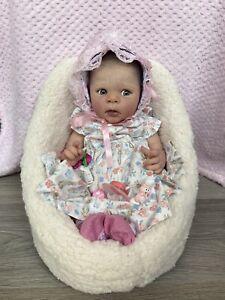 "Reborn 18"" Baby Eric Adrie Stoete Royal Ascot Reborns"