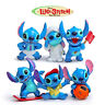 Lilo And Stitch 6 pcs PVC Toy Set Figure Cake Topper  US Seller Free Shipping