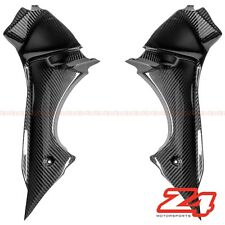 2013-2017 Daytona 675 R Upper Front Dash Air Cover Cowling Fairing Carbon Fiber