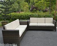Rattan Garden Furniture Set Sofa Conservatory Outdoor Wicker Patio Weave