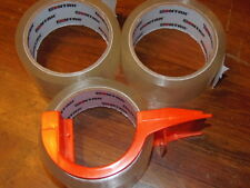 "SONTAX PACKAGING TAPE DISPENSER WITH 3 ROLLS; 1.88"" x 54.6 yd  (OFFICE)"