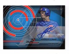 JUNIOR LAKE MLB 2014 TOPPS TRAJECTORY AUTOGRAPHS (CHICAGO CUBS,ORIOLES,BLUE JAYS