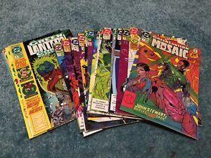 Green Lantern Mosaic DC Comics Lot #1-12, 14-17, Green Lantern Corps No Reserve