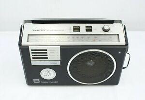 Vintage Lloyd's Portable FM/AM 8 Track Tape Player Model 19872