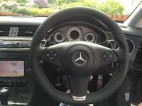 Mercedes Benz CLC SL CLS Steering Wheel Upgrade Leather AMG R230 CL203 W219