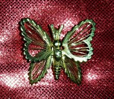 Monet Gold butterfly charm pendant