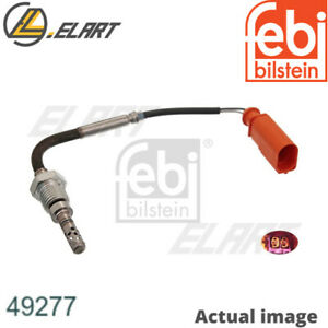 EXHAUST GAS TEMPERATURE SENSOR FOR AUDI VW Q7 4L BUG BUN CASB CASA FEBI BILSTEIN