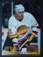 NHL 221 Jeff Brown Vancouver Canucks Fleer Ultra 1994/95