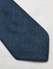 VINTAGE WOODROW METALIC BLUE-BLACK SPECKLED SLIM TREVIA TIE