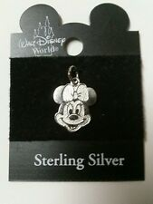 Disney Minnie Mouse Sterling Silver charm  vintage NOC