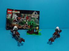 LEGO STAR WARS ~ Speeder Bikes (7128) & Manual