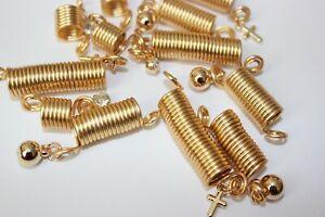 12PC Hair Coil Dreadlocks Braiding Charms Beads (Spring Braid with Charms)
