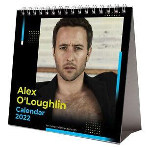 Alex O'Loughlin 2022 Desktop Calendar NEW Desk 12 Months Pretty Sexy Man