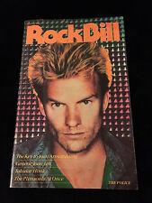 The Police-Rock Bill Magazine-Concert Program Tour Book-Sting
