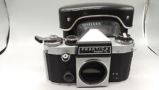 +Praktica Super TL Pentacon Rangefinder Film Camera Body +Leather CaseNICE/CLEAN