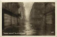 CPA PARIS Rue de Bellechasse INONDATIONS 1910 (606184)