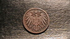 Germany Empire 1913 A Berlin 1 Pfennig Wilhelm II KM10 Bronze 406B6
