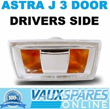 ASTRA J 3 DOOR NEW SIDE REPEATER INDICATOR LENS DRIVERS OFF RIGHT SRI CDTI GTC