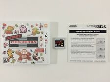 Ultimate NES Remix Nintendo 3DS Auth Tested Complete CIB