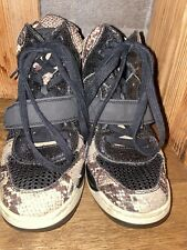 ASH Wedge Snakeskin Ankle Boots - Excellent Condition