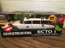 Joyride 1:21 Ghostbusters ECTO 1 Highly Detailed Die Cast W/Slimer