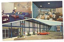 Detroit City Airport Motel, 10945 Gratiot at Conner, Detroit MI Wayne Postcard