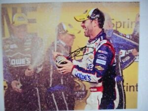 Jimmie Johnson signed 2013 #48 CHARLOTTE ALL-STAR VICTORY Nascar 8x10 Photo