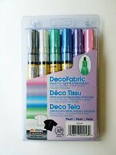 Marvy Uchida decofabric marcador set (6) Perla