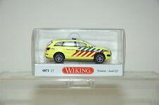 Wiking 07117 Audi Q7 Notazt AMBULANCE HO 1:87 NEU