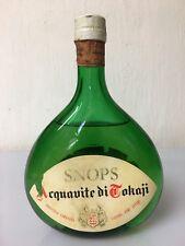 Snops Acquavite Di Tokaji Illva Saronno 75cl 45% Vol Vintage