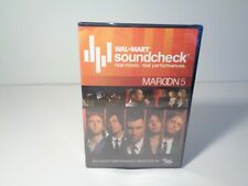 MAROON 5 WALMART SOUNDCHECK New DVD Limited Edition