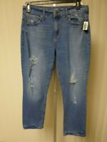 Old Navy Women's The Perfect Straight Ankle The Power  Jeans DISTR. Size 10  NWT