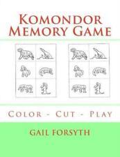 Komondor Memory Game: Color - Cut - Play
