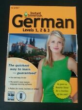 Instant Immersion German Levels 1 2 & 3
