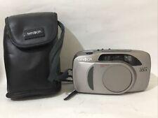 Minolta Riva Zoom 115 Ex Passive Af Film Camera Very Good Condition With Case