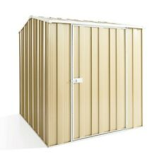 Cheap Shed Gable Roof 1.76m x 2.1m Single Dr Colour with FREE Skylight - ON SALE