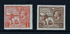 KGV, 1925, British Empire Exhibition, set of 2 stamps, LMM, Cat £80.