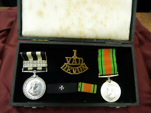 ORDER OF ST. JOHN MEDAL + OTHERS 24817 A/COMMR G W HINGSTON No 9 DIS SJAB 1942