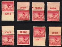 1932 Sc 716 MNH Lake Placid Olympics plate numbers Hebert CV $20